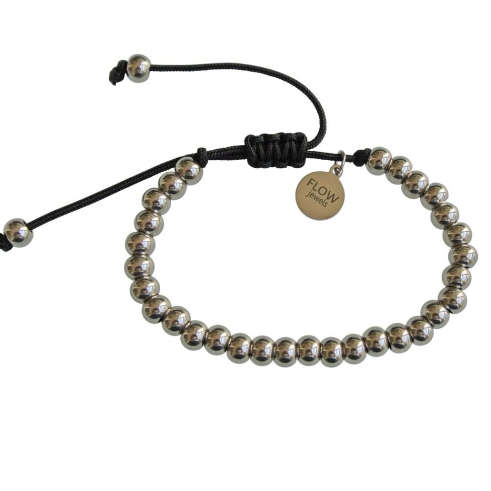 FlowJewels armband zilver
