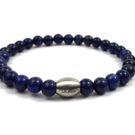 Enam Lapis Lazuli Kwarts,heren Armband,mannen Armband,natuursteen,blauw,byjulian,1
