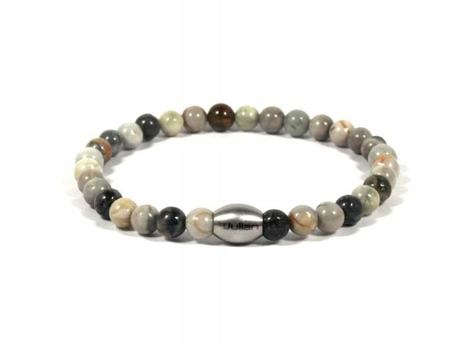Enam Oicasso Jaspis,heren Armband,mannen Armband,picasso Jaspis,byjulian