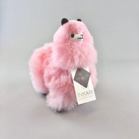 Inkari Alpaca Knuffel Cotton Candy S Limited Edition Distelroos
