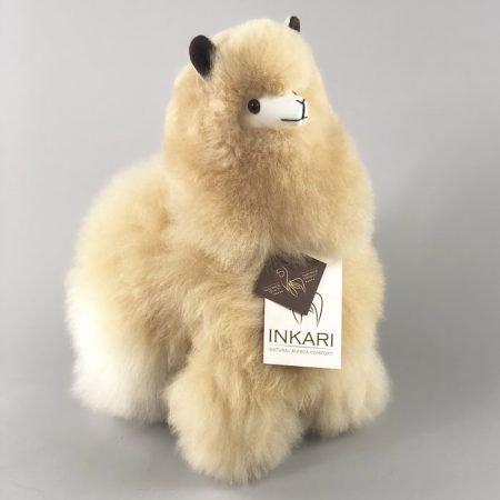 Inkari Alpaca Knuffel Blond M Distelroos