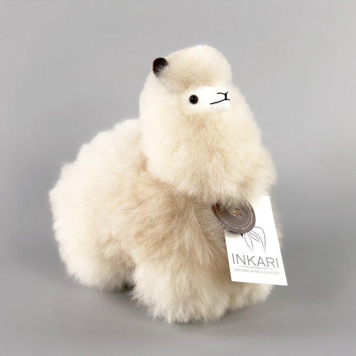 Inkari Alpaca Knuffel Blond S Distelroos