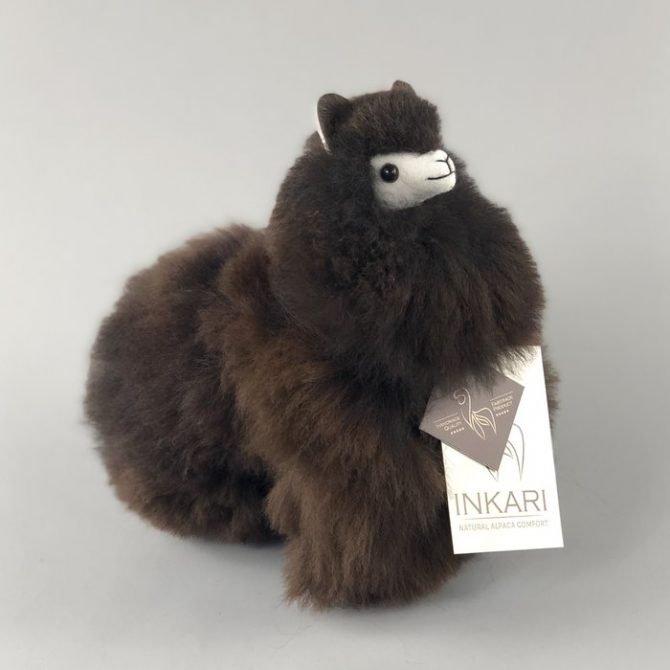Inkari Alpaca Knuffel Cacao S Distelroos