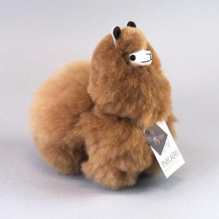 Inkari Alpaca Knuffel Hazelnoot S Distelroos