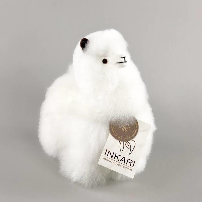 Inkari Alpaca Knuffel Ivoor S Distelroos
