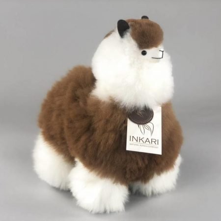 Inkari Alpaca Knuffel Macchiato M Distelroos