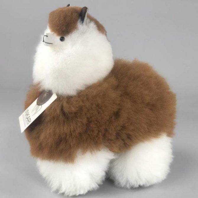 Inkari Alpaca Knuffel Macchiato M Distelroos 3