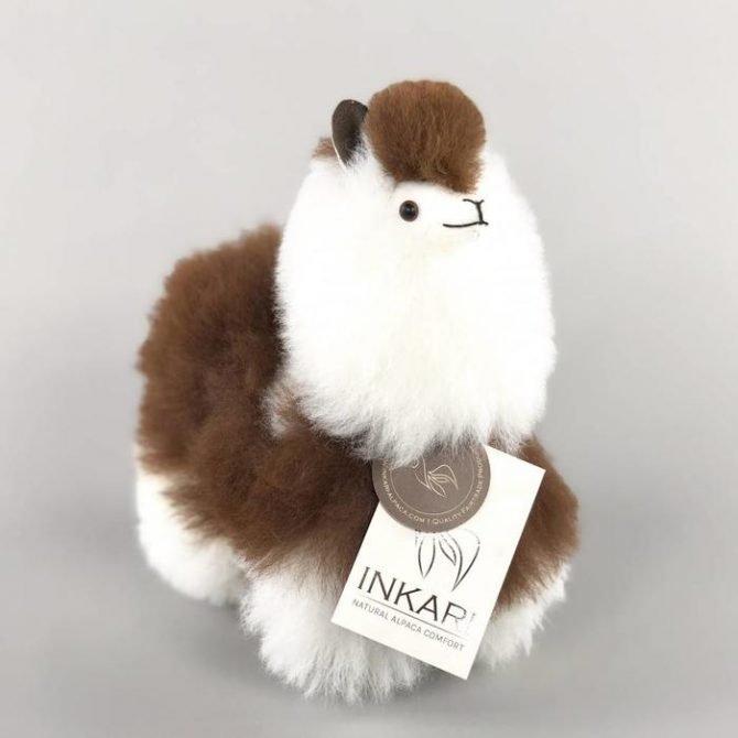 Inkari Alpaca Knuffel Macchiato S Distelroos