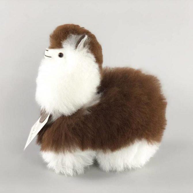 Inkari Alpaca Knuffel Macchiato S Distelroos 3