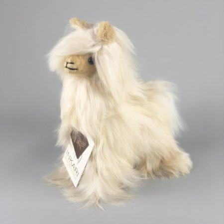 Inkari Alpaca Zachte Knuffel Suri Sahara Small Distelroos