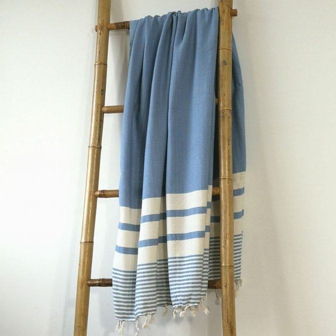 Yazgibi Hamamdoek Likya Blauw
