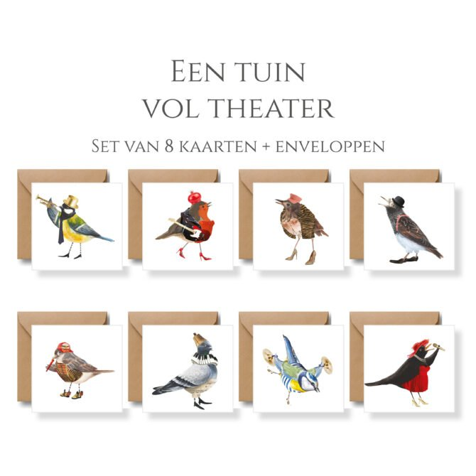 Een Tuin Vol Theater 8 Kaarten