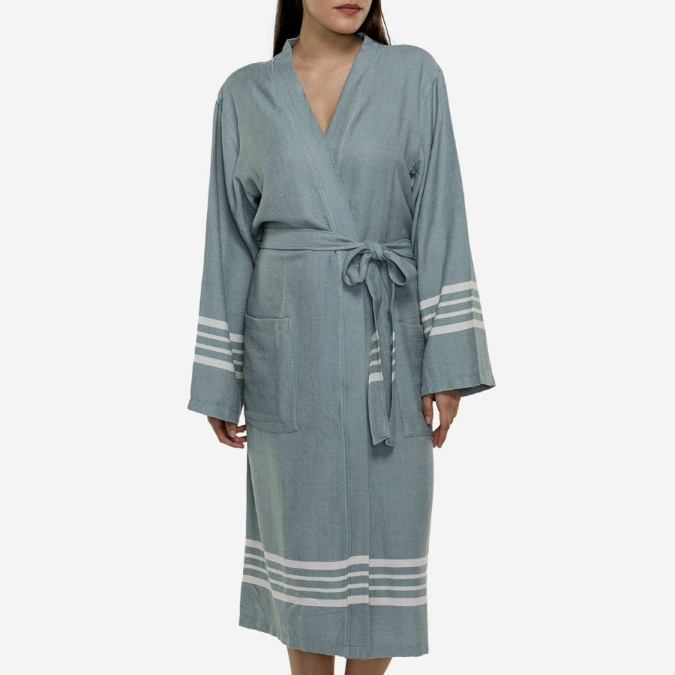 Yazgibi Hamam Zomerbadjas Saliegroen Kimono