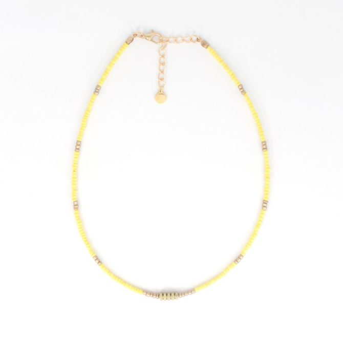 Geel Gold Beads