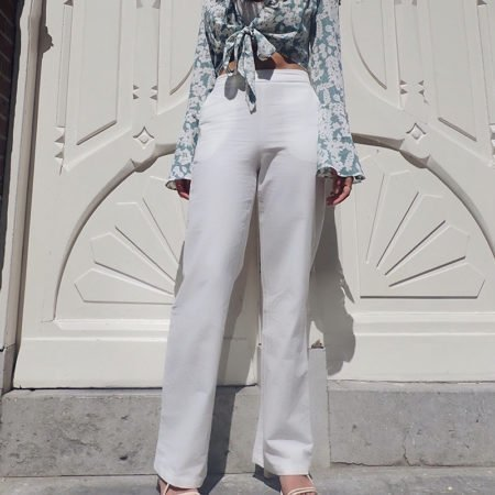 High Waisted Cotton Pant Jane 1