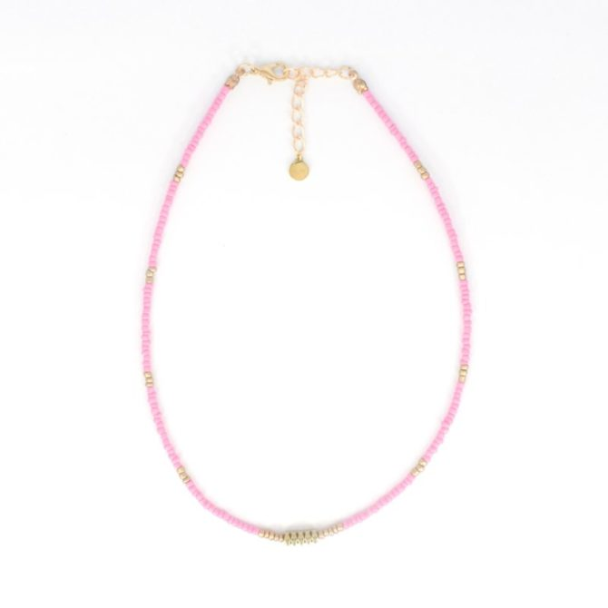 Roze Gold Beads