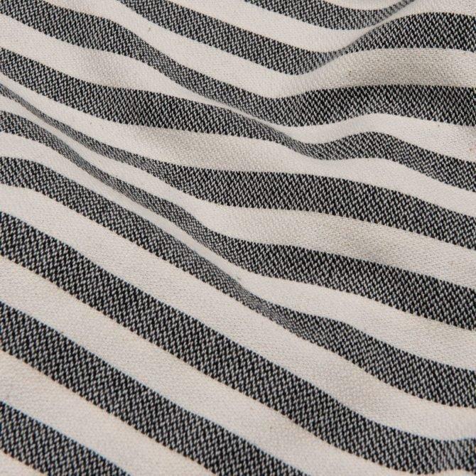 Yazgibi Hamamdoek Gestreept Zwart Detail