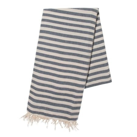 Yazgibi Hamamdoek Stripe Navy