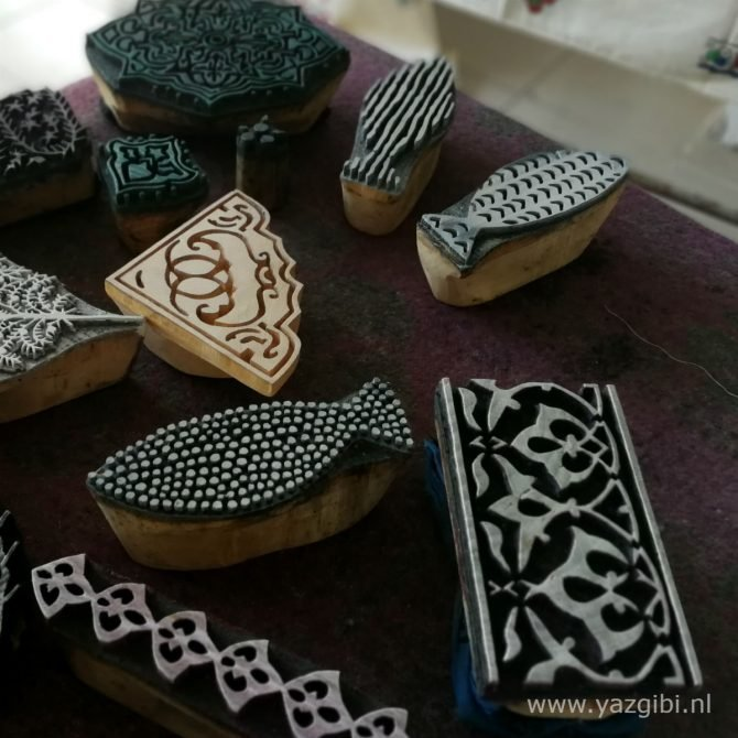 Yazgibi Blockprint Stempels