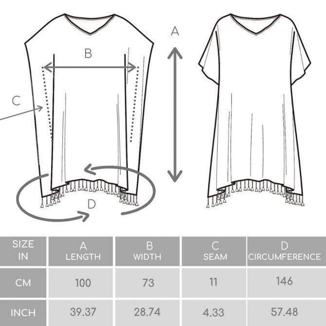 Yazgibi Tuniekbatik Size Guide