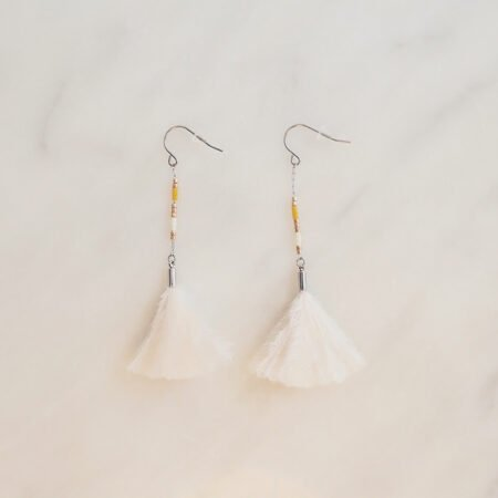 Feather Earrings Willow