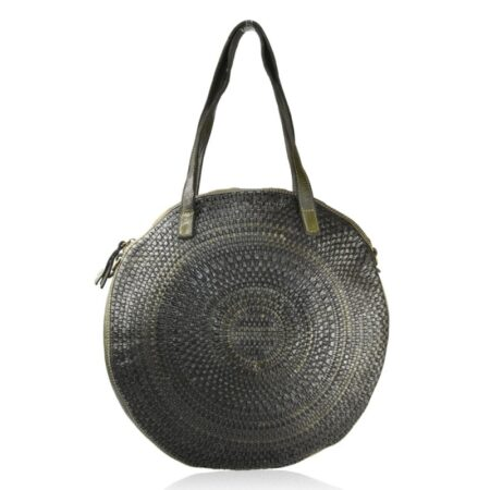 Woman Washed Leather Bag Nc58864