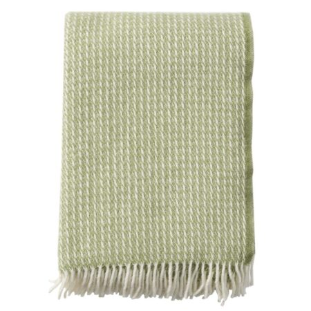 211104 Line Green Wool Blanket Wp
