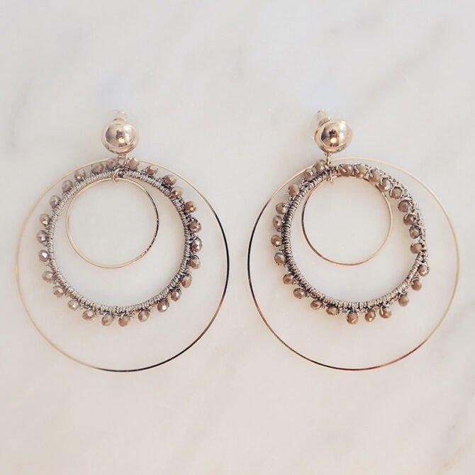 Layered Hoop Earrings Flannery