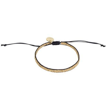 Armband Hammer Zwart Goud 1