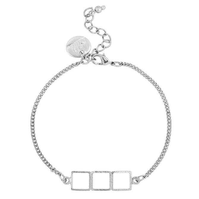 Armband Khidki Zilver 1