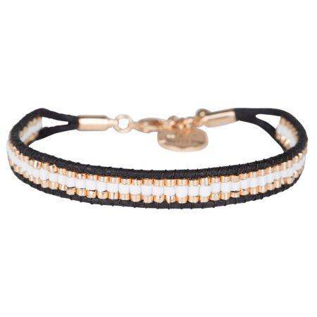Armband Utsav Wit Rose Goud