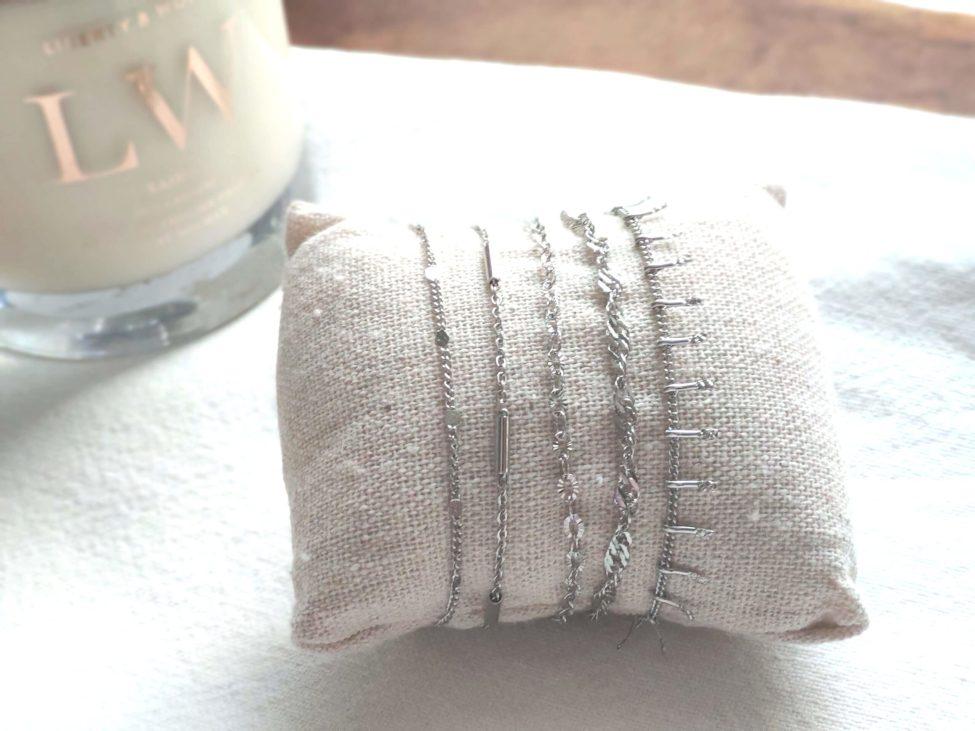 Fijne Armband,rvs,zilver
