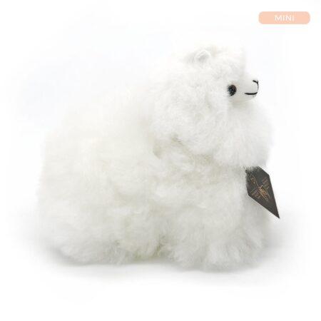 Inkari Alpaca Knuffel Ivoor Xs Distelroos