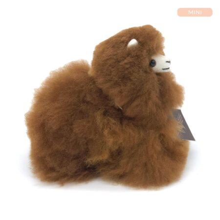 Inkari Alpaca Knuffel Walnoot Xs Distelroos