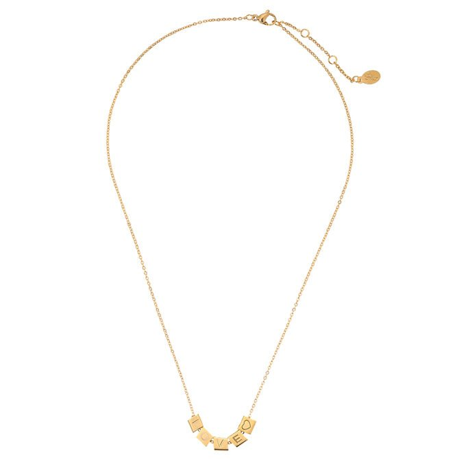 Necklace Love Blocks 17079 2