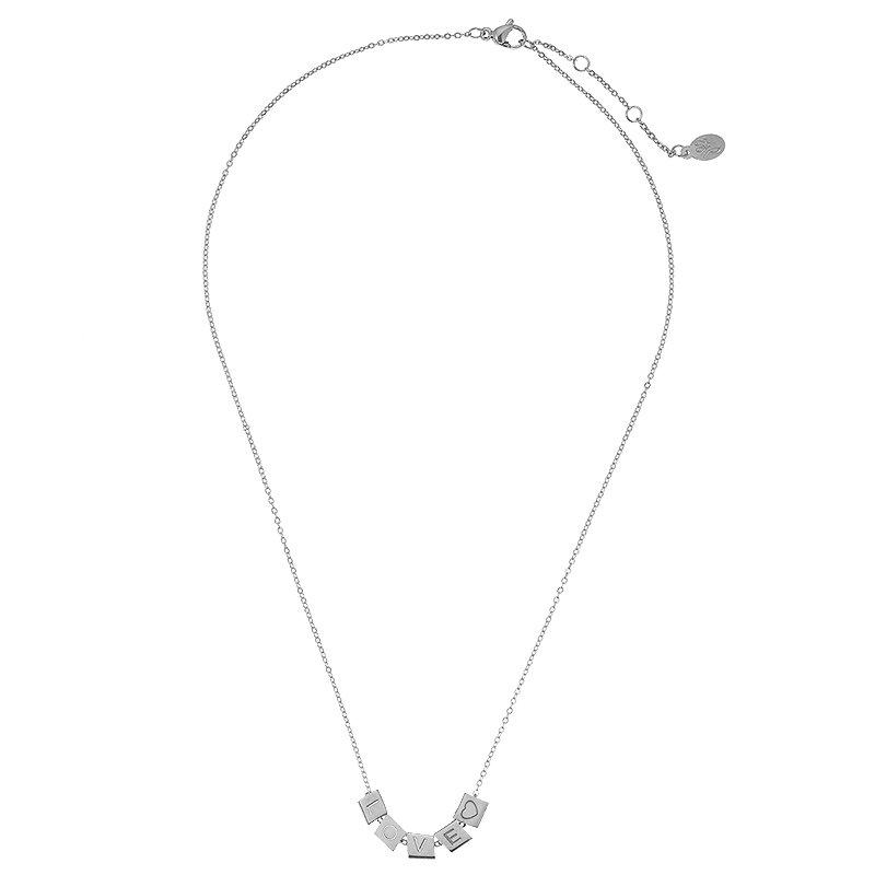 Necklace Love Blocks 17080 2