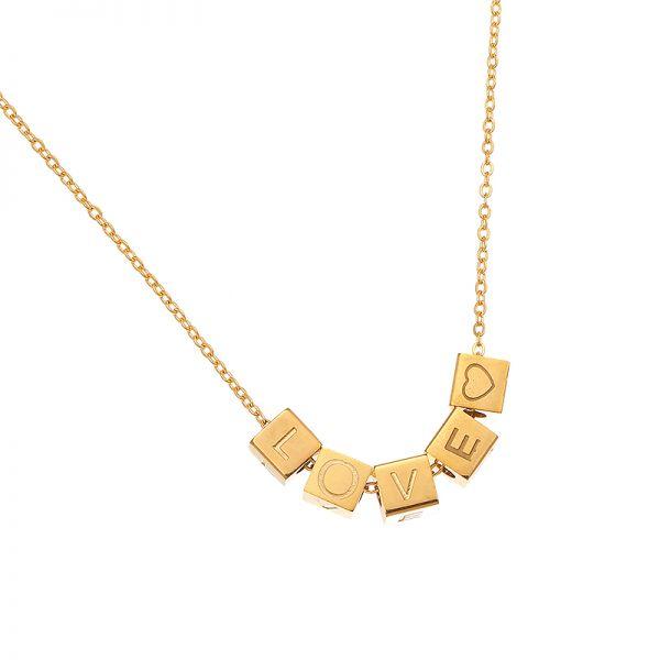 Necklace Love Blocks A54253 600x600