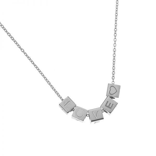 Necklace Love Blocks A54254 600x600