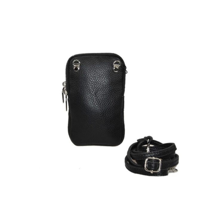 Woman Leather Mobile Pochette 1