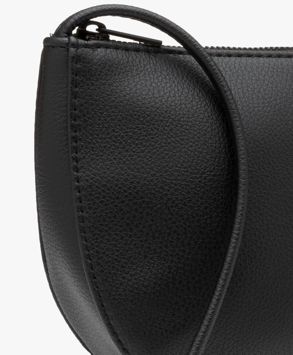 Farou half moon bag black