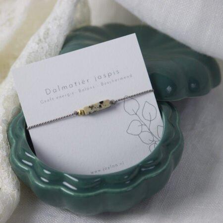 Dalmatier Jaspis Armband