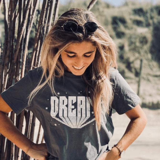 Mocha Fashion Tshirt Dream (1)