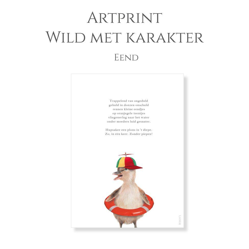 Artprint Eend 1