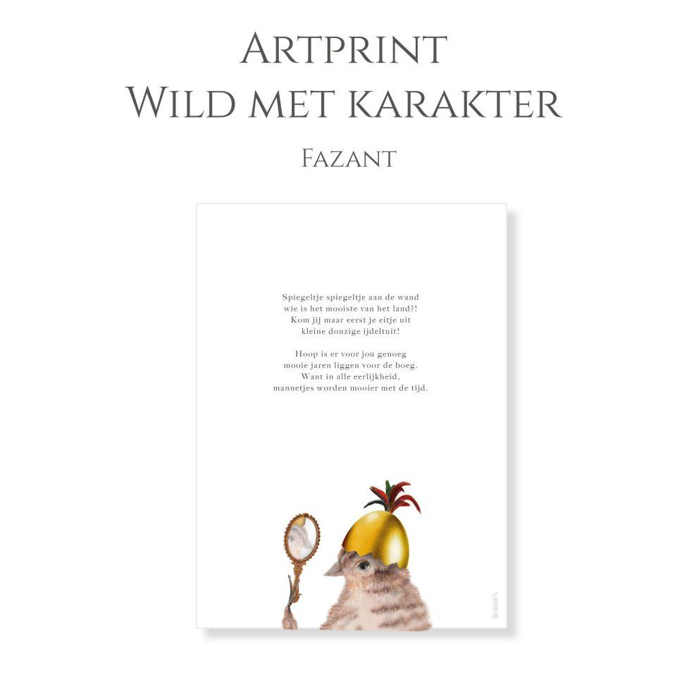 Artprint Fazant 1