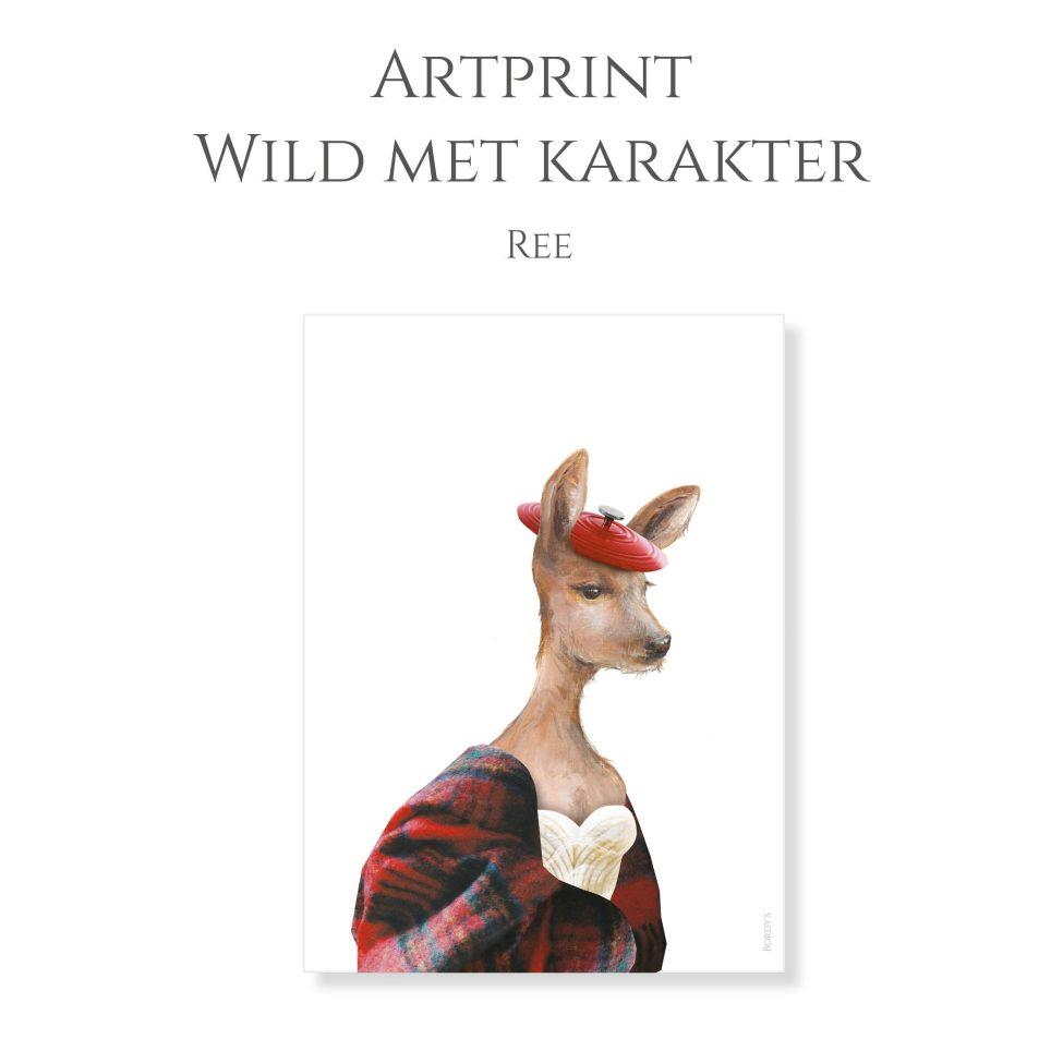 Artprint Ree