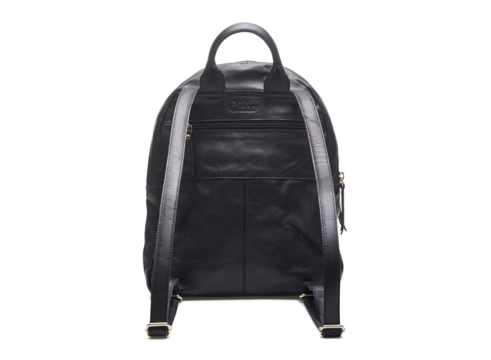Backpack Black Back
