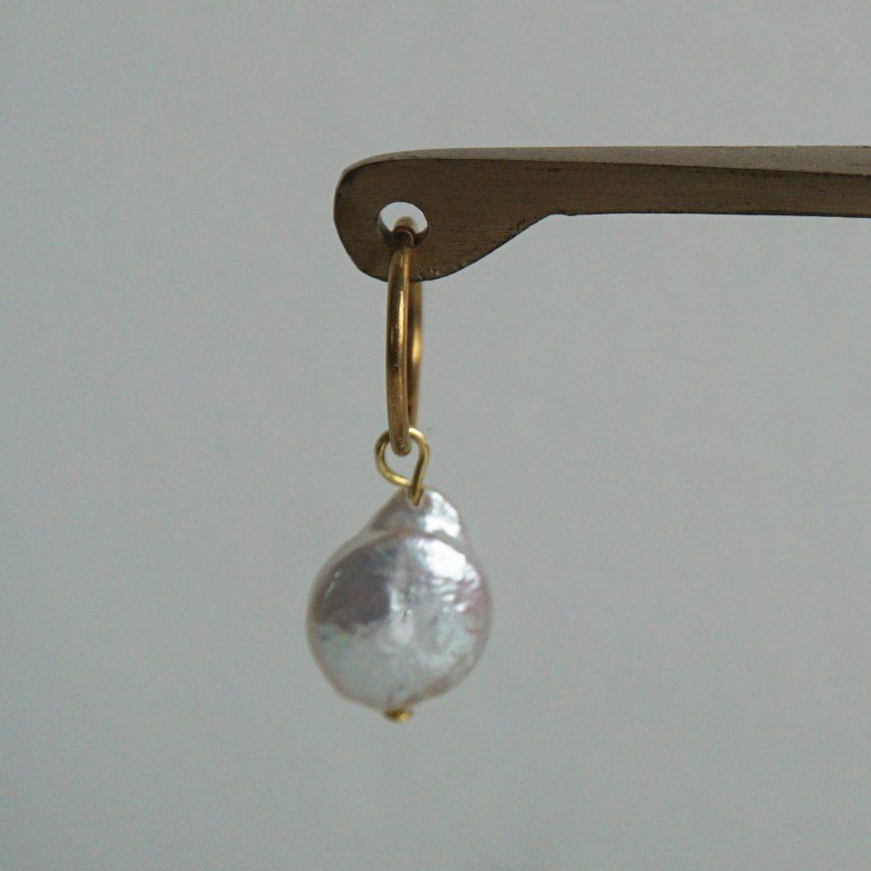 Earring Big Pearl