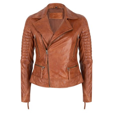 Leather Jacket Cognac