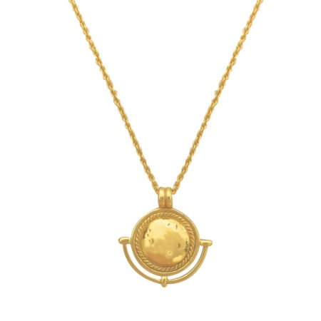 My Treasure Hunts Ketting Amulet Goud 6046