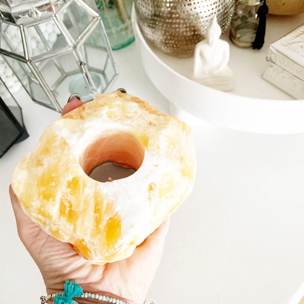Edelsteen Waxine Calciet Oranje Kado Idee By Sas